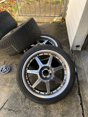 18inch wheels and tires for Sale in Silver Spring, MD