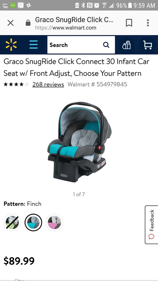 Brand New Graco Snugride Click Connect 30 Infant Car Seat With Base For Sale In Mukilteo WA