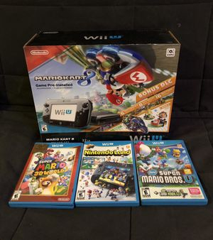 Wii U and Games for Sale in Fairfax, VA
