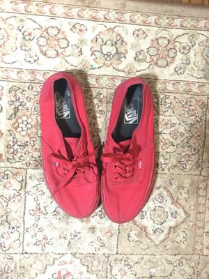 Vans authentic all red for Sale in Alexandria, VA
