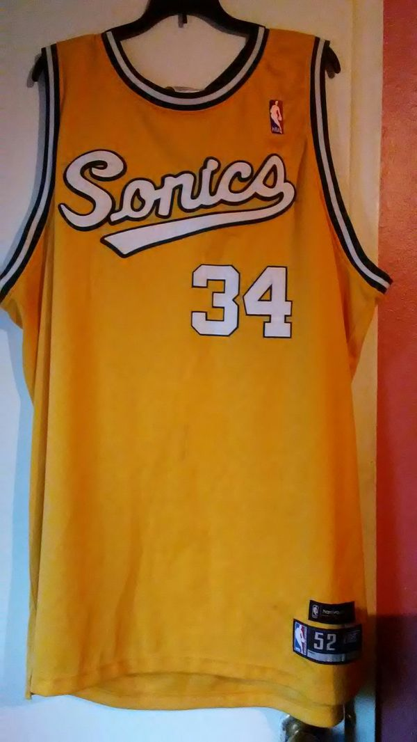Ray Allen original  34 seattle supersonics jersey for Sale in ... c909c88a8