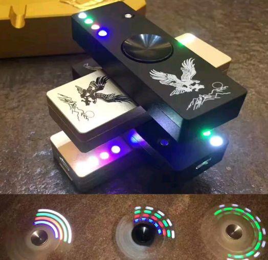 Lighter Fidget Spinner with LED Lights