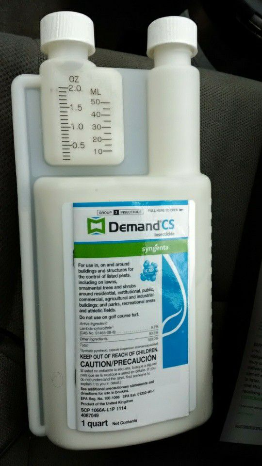 Demand CS Insecticide for Sale in Kansas City, MO - OfferUp