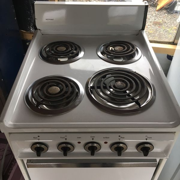 20 inch hotpoint electric range oven apartment size (Appliances) in ...