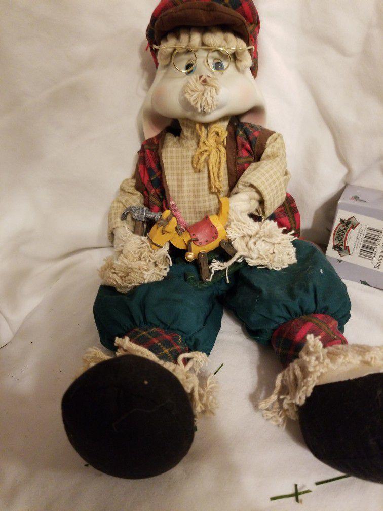 Christmas Around The World Grampa Bunny