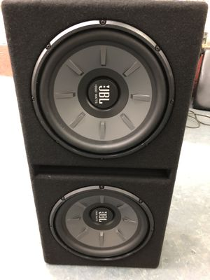 JBL subwoofer and Amplifier for Sale in Boston, MA - OfferUp