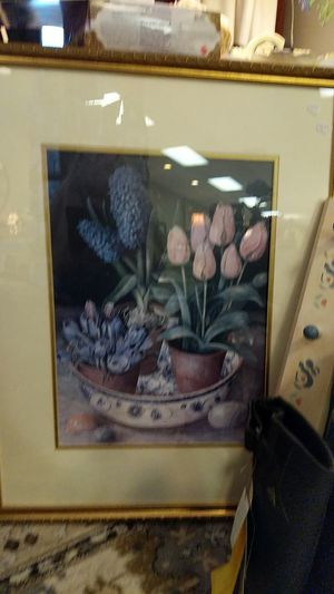 LARGE TULIP PICTURE FROM ESTATE for Sale in Leesburg, VA