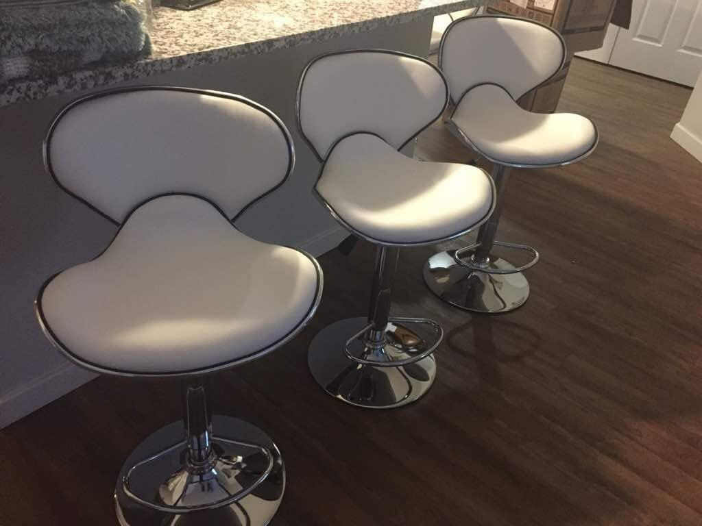 Set of bar stools brand new!!! Chairs sillas cadeiras price for set