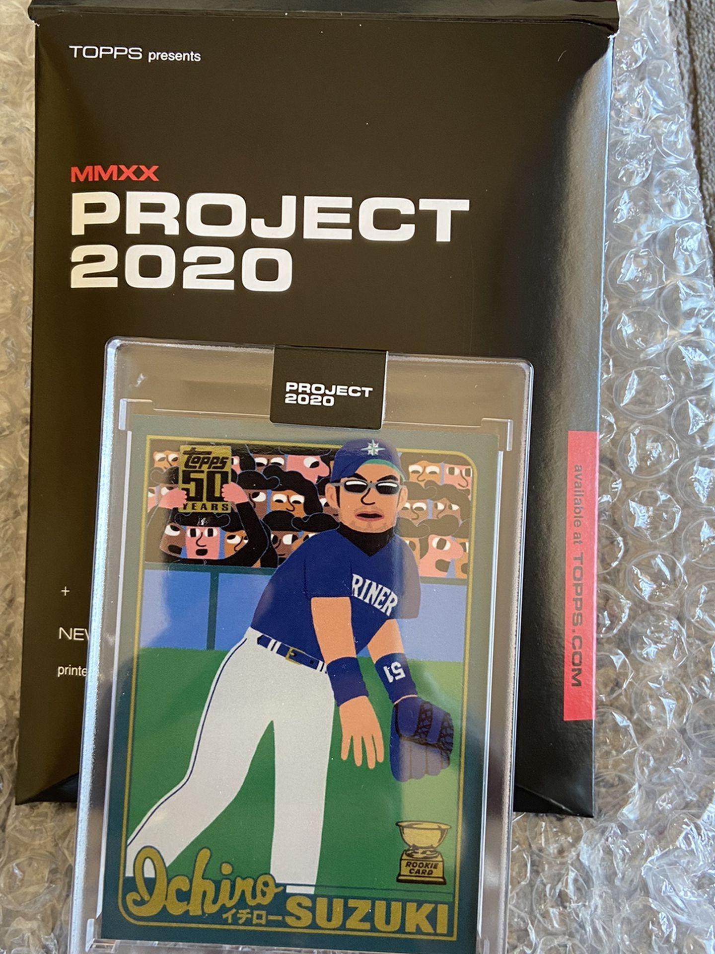 Keith Shore - Ichiro Project 2020 Topps