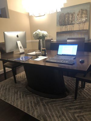 Dining room table, buffet and 6 chairs for Sale in Rockville, MD