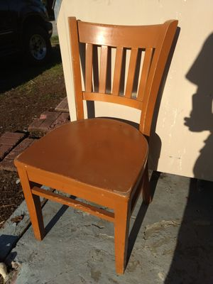 4 Matching All Wooden Chairs for Sale in Winter Haven, FL