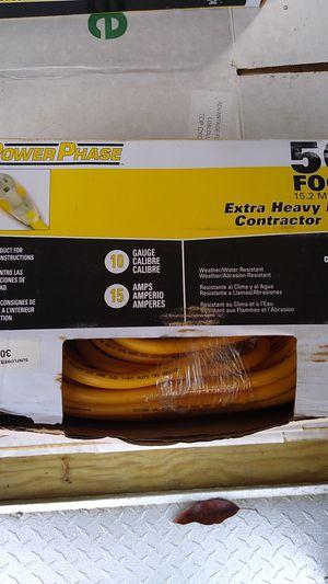 Photo Power Phase 50ft Extra Heavy Duty Power Cord