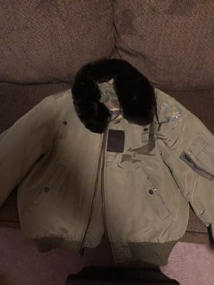 US Air Force Vintage Bomber Jacket (S-M) for Sale in Union, NJ
