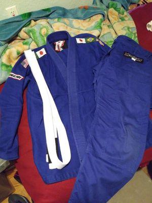 Jiu-Jitsu gi kimono bottoms size A3 black and blue for Sale in ... f8eda5929ef32