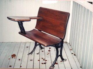 Marvelous Handmade Antique Wooden School Desk With Wrought Iron Legs For Sale In Kirkland Wa Offerup Download Free Architecture Designs Xoliawazosbritishbridgeorg