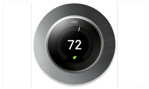Nest Learning Thermostat W/decorative brushed stainless steel faceplate for Sale in Arlington, VA