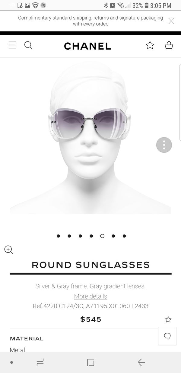 0356a0827248 CHANEL 4220 SUNGLASSES for Sale in Los Angeles, CA - OfferUp