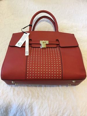 6cfff15822ec La Terre Fashion PETA-approved Vegan Pebbled Leather Rouge Handbag for Sale  in Kissimmee, FL - OfferUp
