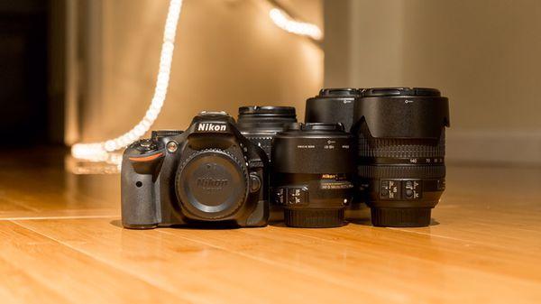 Nikon D5200, Four Lenses & Accessories  for Sale in Las Vegas, NV - OfferUp