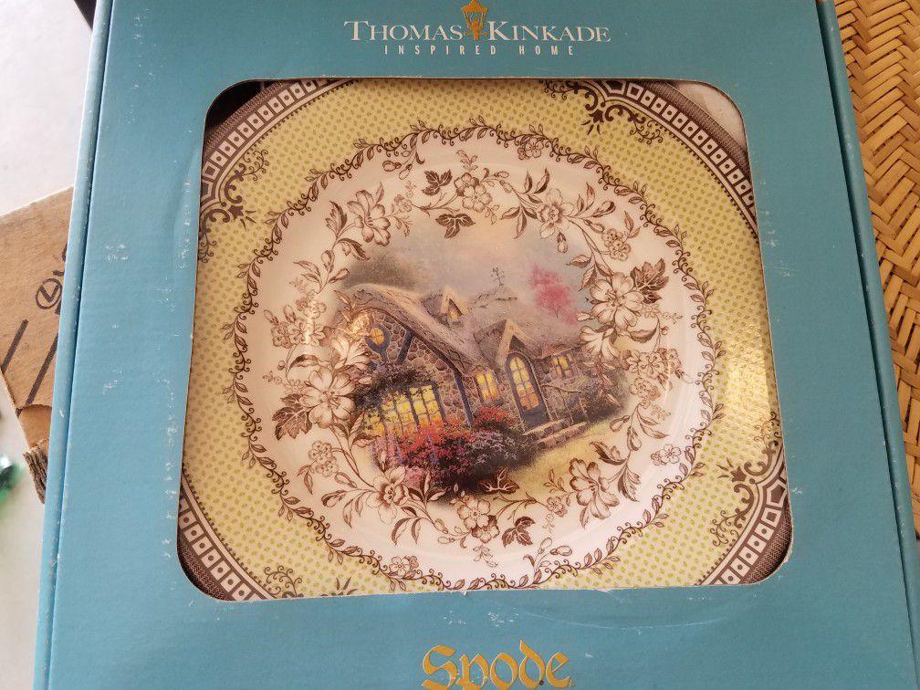 Thomas kinkade plates set of 4