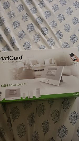 Security System, advanced kit with app for Sale in Riverside, CA