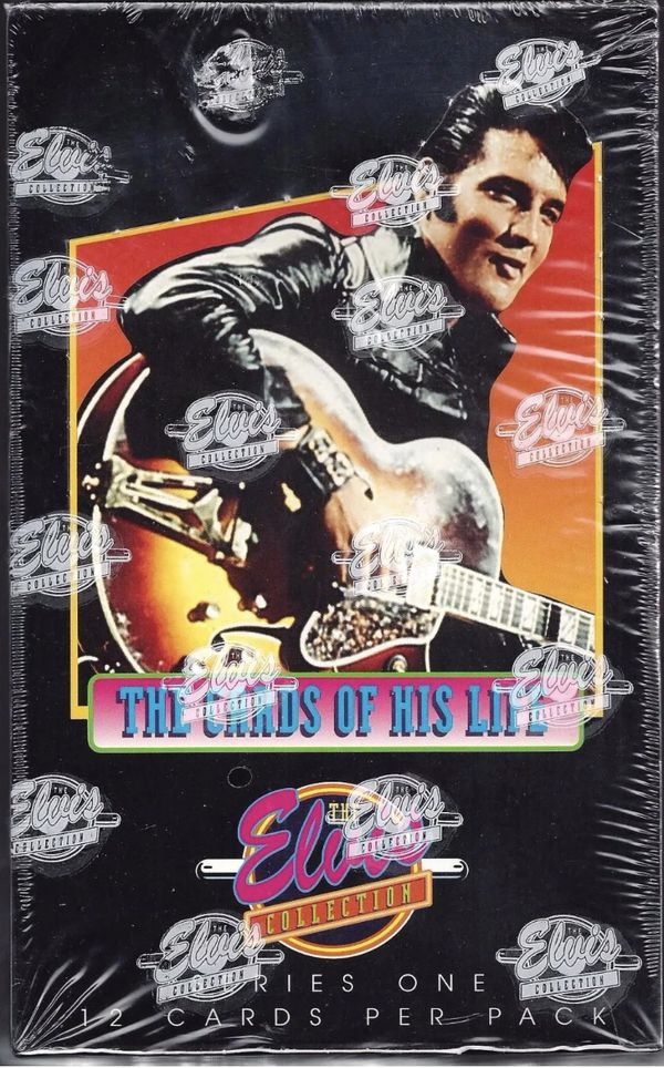 The Elvis Collection The Cards Of His Life Series One For Sale In