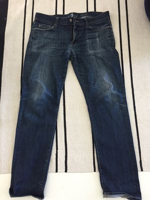 Seven jeans with man size hole under back right pocket for Sale in Los Angeles, CA