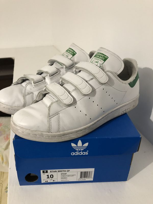 online store df9b3 57339 Adidas Stan Smith size 10 Velcro for Sale in San Francisco, CA - OfferUp