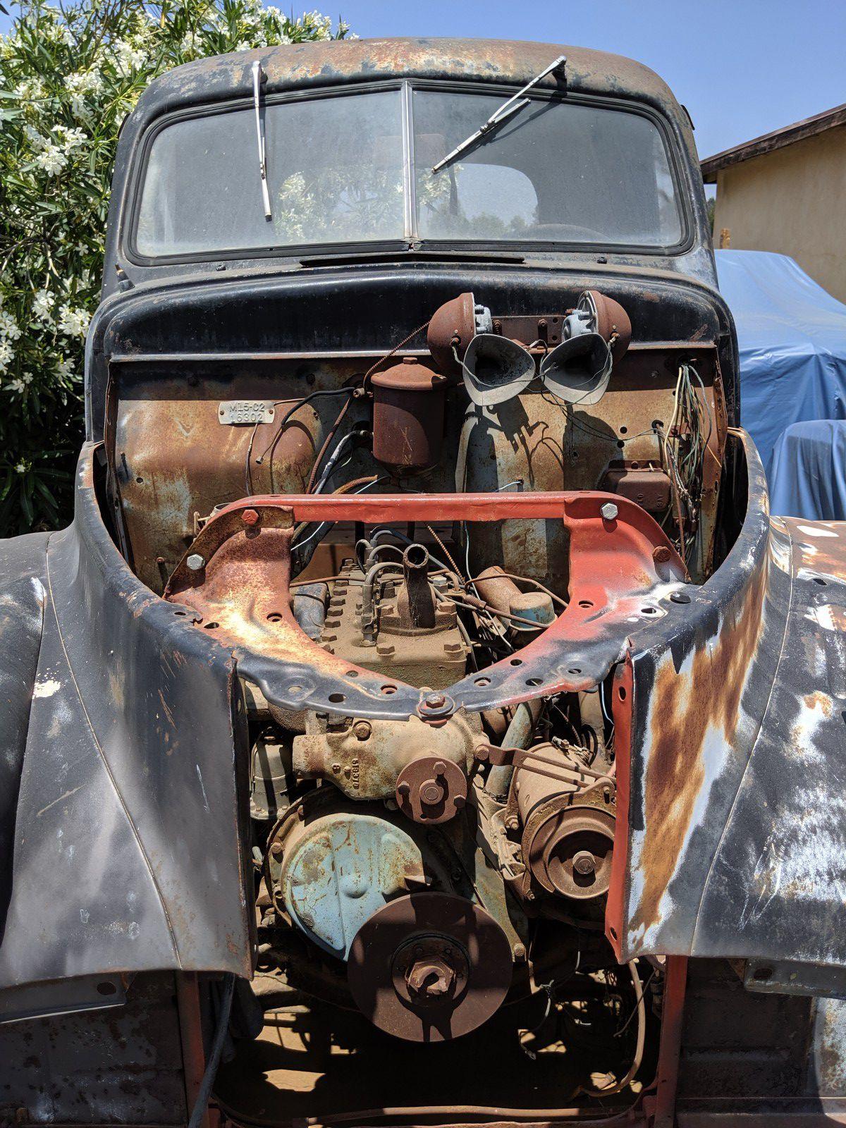 46-48 Studebaker M15 dually truck 1 Ton