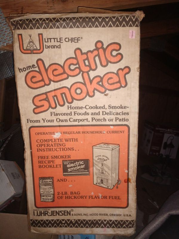 A Little Chief Electric Smoker For Sale In Spanaway Wa Offerup