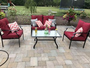 Used Patio Furniture Sets.New And Used Patio Furniture For Sale In Naperville Il Offerup
