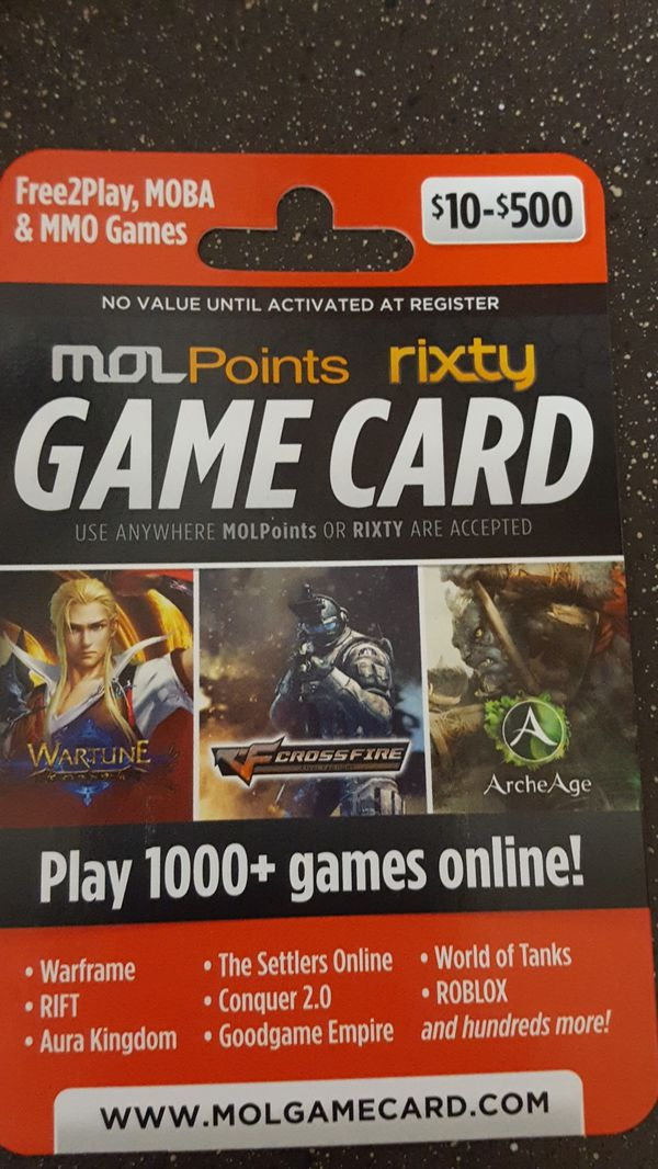 Rixty game card | FREE Rixty Gift Card  2019-03-13