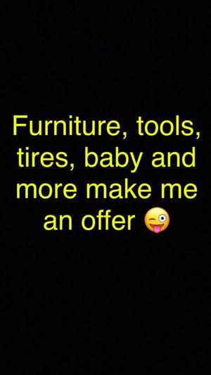 Furniture, baby, tires, tools, decor and more for Sale in Phoenix, AZ
