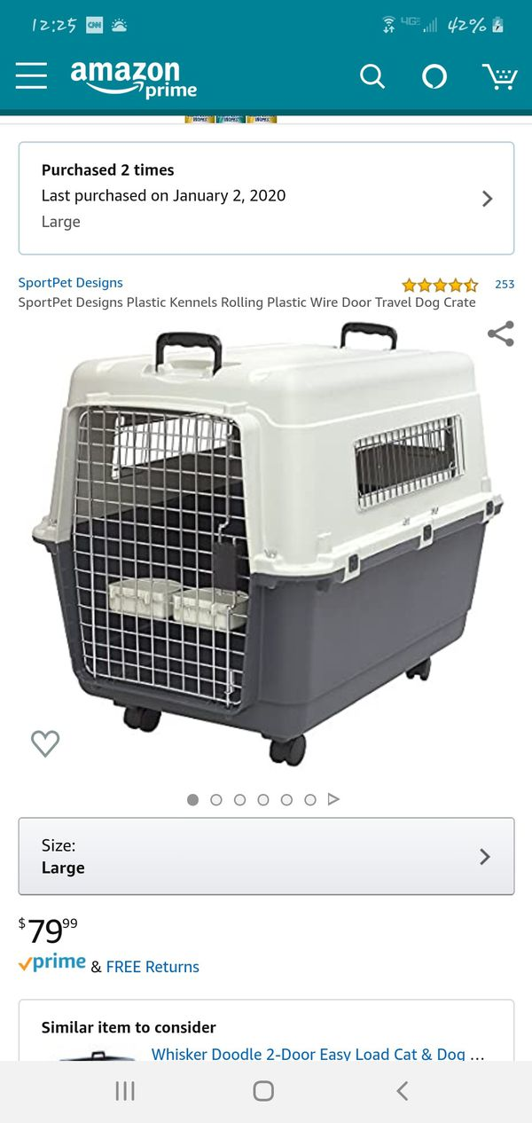 New And Used Dog Crate For Sale In Baltimore Md Offerup