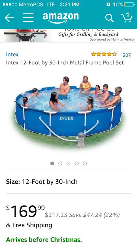 Intex above grown pool 12x30 for Sale in Aventura, FL - OfferUp