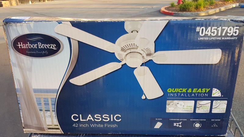 Vendo hermoso ventilador nuevo precio $30