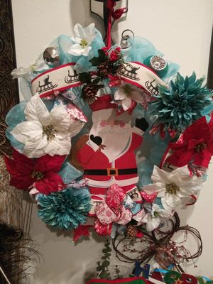 Holiday wreath for Sale in Perris, CA