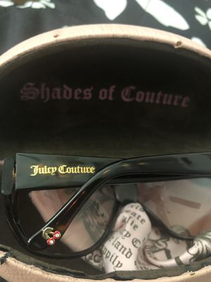 1b19bfedda Juicy Couture Women s Sunglasses w  Juicy Case for Sale in Chino Hills