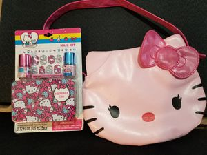Hello Kitty Purse and Hello Kitty Nail Polish Kit for sale  Tulsa, OK