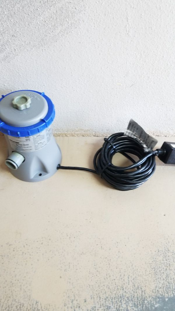 Bestway Filter Pool Pump Intertek 4007787 120 Volts