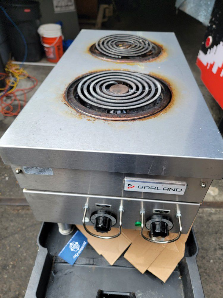 Commercial Electric Hot Plate Stove.