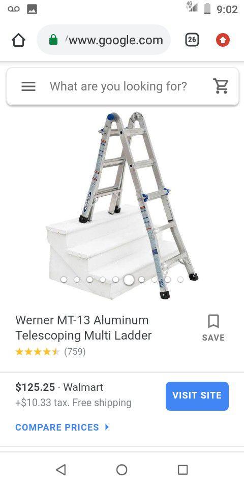 Werner Telescoping Multi-Ladder