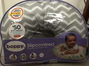 Boppy nursing pillow/ tummy time support pillow for Sale in Falls Church, VA