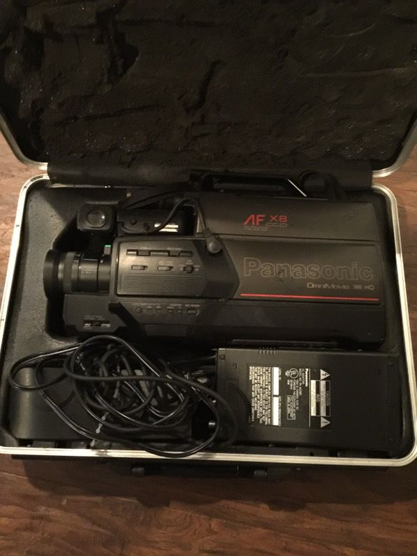 Vintage 1988 Panasonic Omnimovie Vhs Hq Camcorder Pv400da For Sale In Stowe Pa Offerup