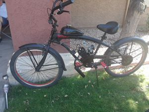 Two sikk bike bout run great just put 250$ in parts in both 66cc for Sale in Scottsdale, AZ