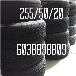 255/50/20 Used Tires free Installation for Sale in Boston, MA