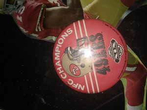 49er Button for Sale in Tacoma, WA