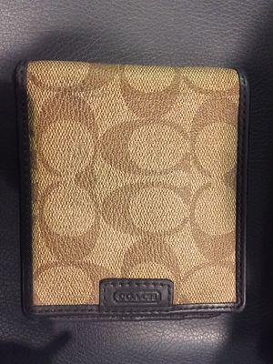 Coach Men's Wallet for Sale in Fairfax, VA