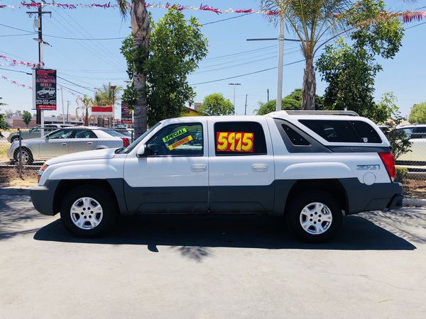 2002 Chevrolet Avalanche Camper Included For Sale In Los Angeles