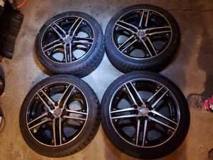 Photo 17 wheels 4 lugs for 97 accord or civic will fit other 4 lugs vehicles...